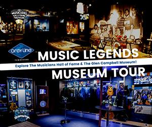 Gray Line Music Legends Museum Tour
